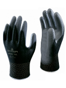 Gloves, SHOWA B0500 Black Palm Fit, Small